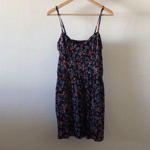 Express Mini Floral Dress